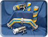 abrasive resistant piping